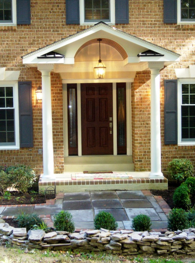Front Door Porch Designs