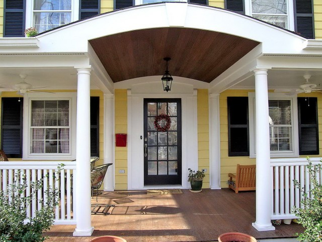 Front Porch Additions Hip Roof