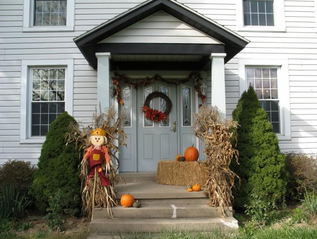 Front Porch Fall Decor Ideas