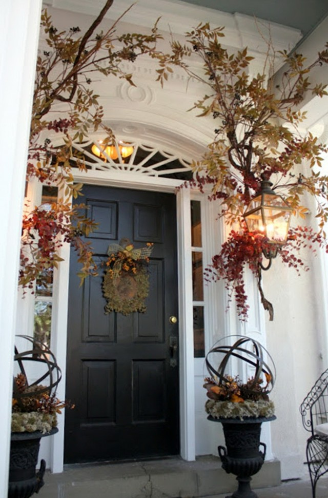 Christmas Porch Decorating Ideas Pinterest Home Design Ideas