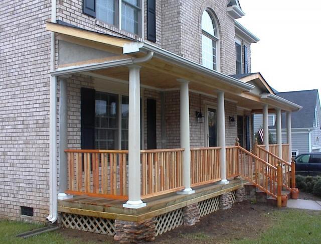 Front Porch Post Designs