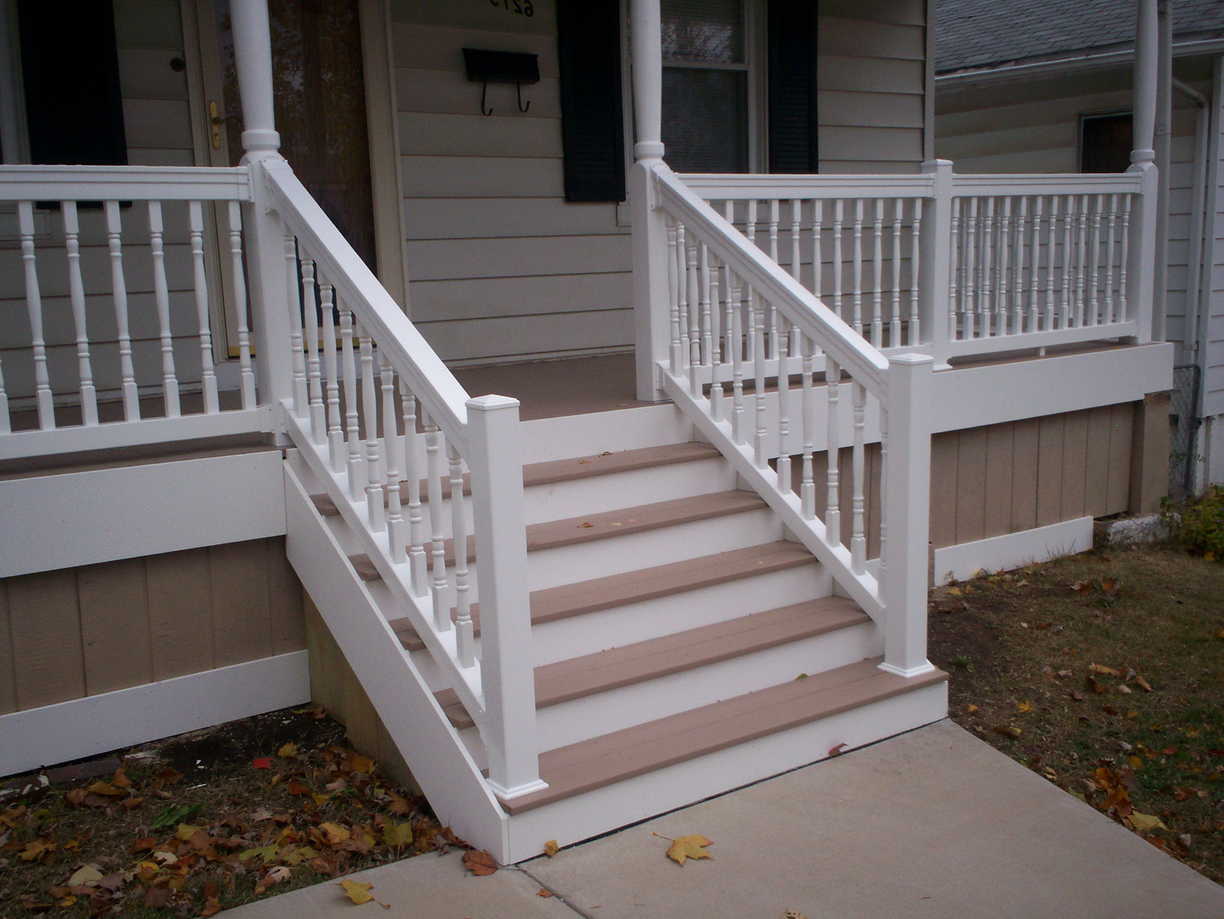 Front Porch Stairs Railing