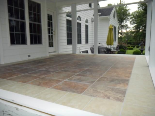 Front Porch Tile Ideas