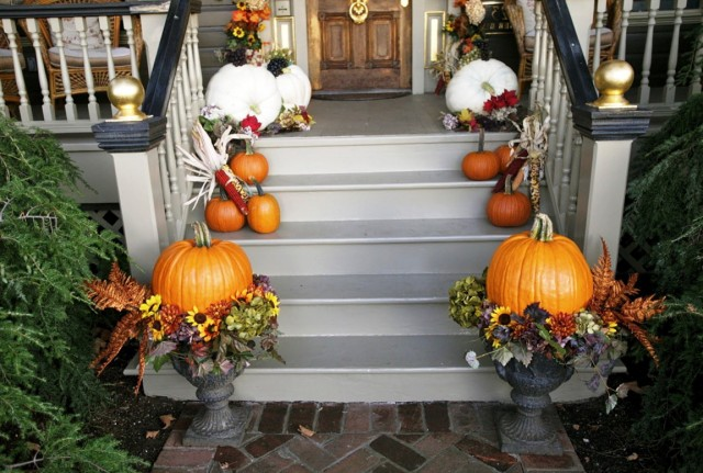 Diy Front Porch Halloween Decor Home Design Ideas