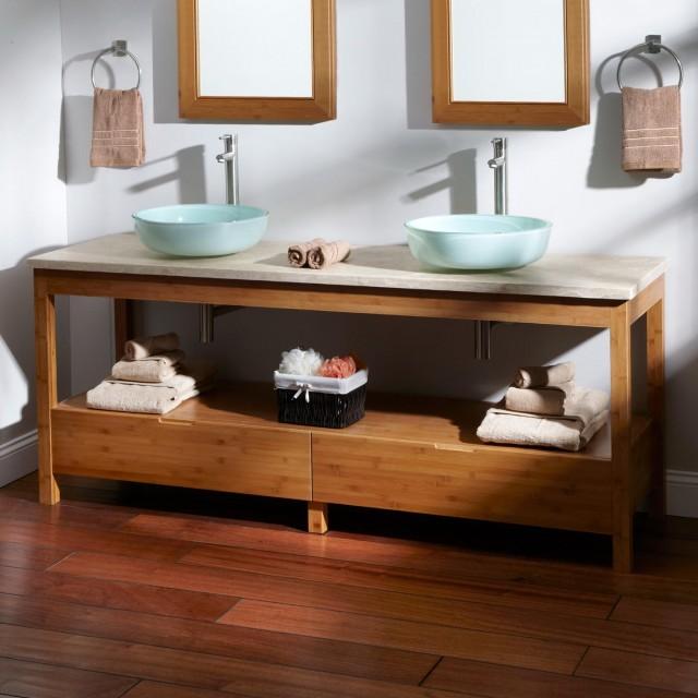 Home Depot Double Vanity Bathroom
