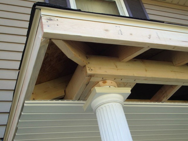 How To Build A Front Porch Roof