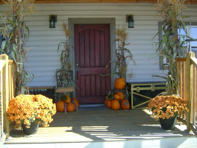 Ideas For Decorating Front Porch For Fall
