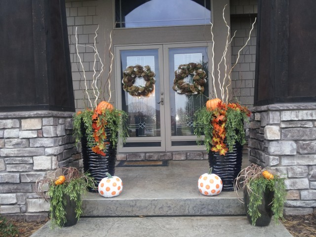 Ideas For Front Porch Fall Decorating