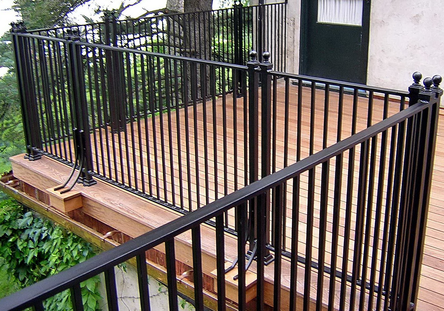 Iron Porch Railings And Posts Home Design Ideas