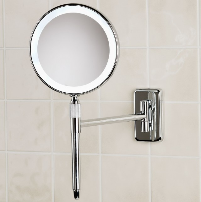 Led Vanity Mirror With Magnification