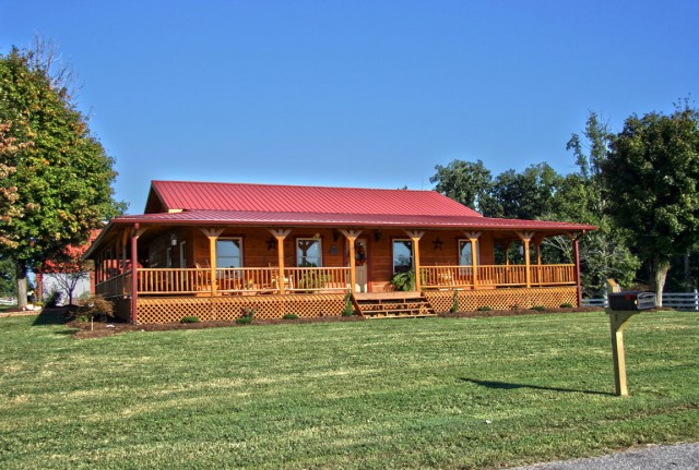 Log Home Plans With Wrap Around Porch