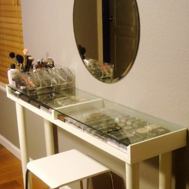 makeup vanity desk ikea - Vanity Desk Ideas