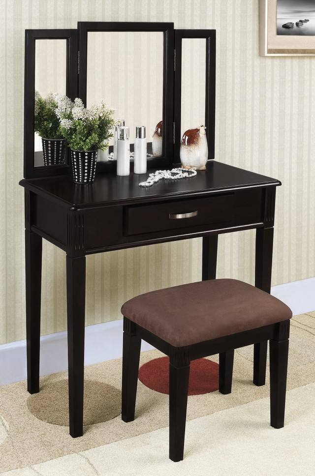 Makeup Vanity Table Set