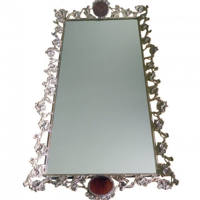 Mirror Vanity Tray Set