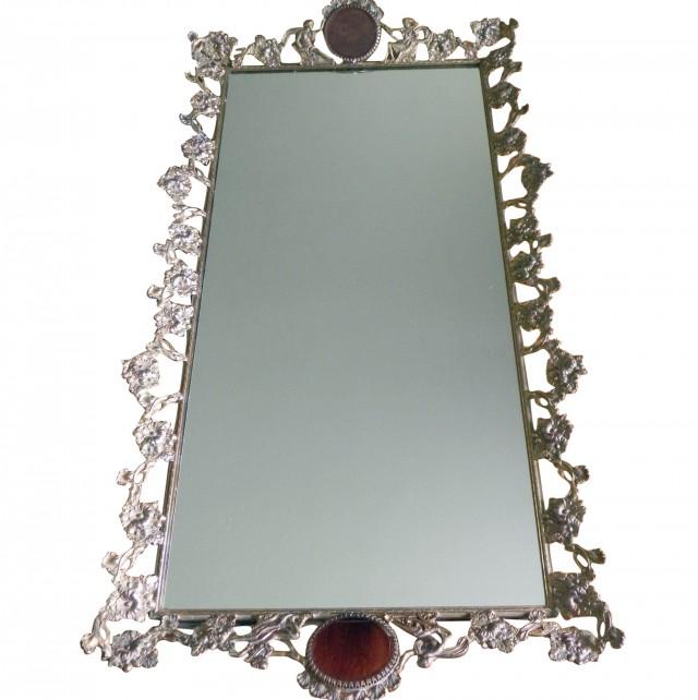 Mirror Vanity Tray Set