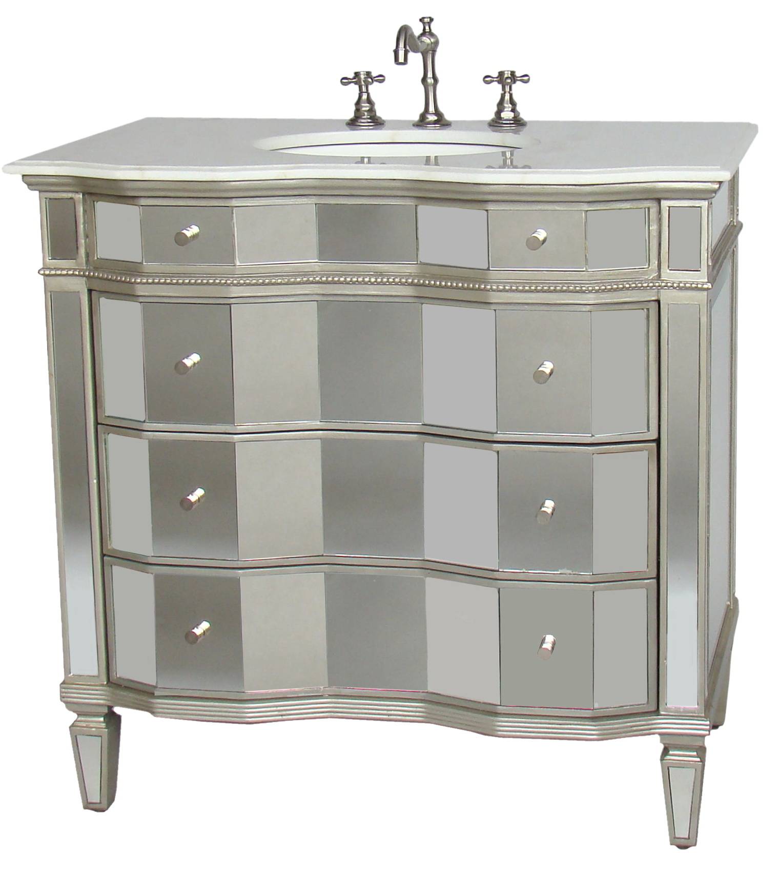 Mirrored bathroom vanity units - Mirrored Bathroom Vanity Units