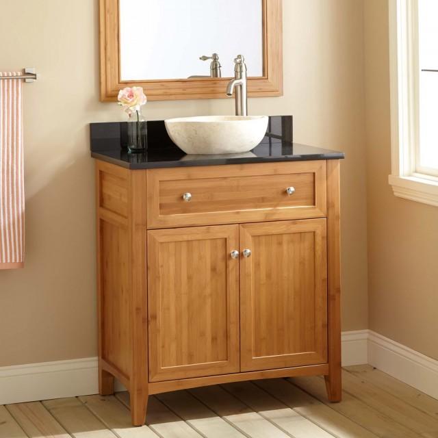 Narrow Depth Bathroom Vanity Cabinets