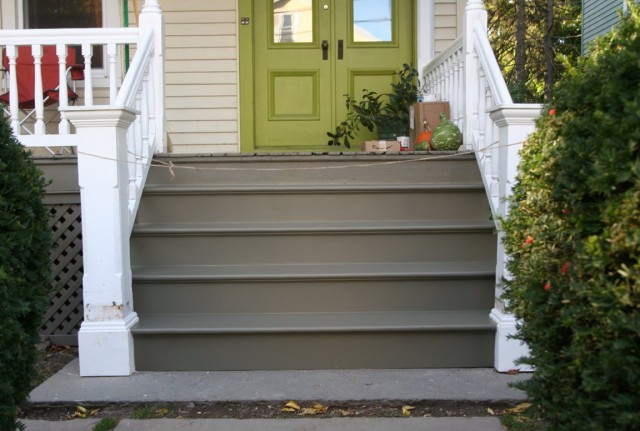 Paint Concrete Porch Steps