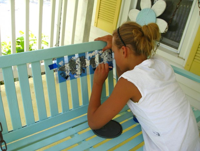 Painting A Porch Swing