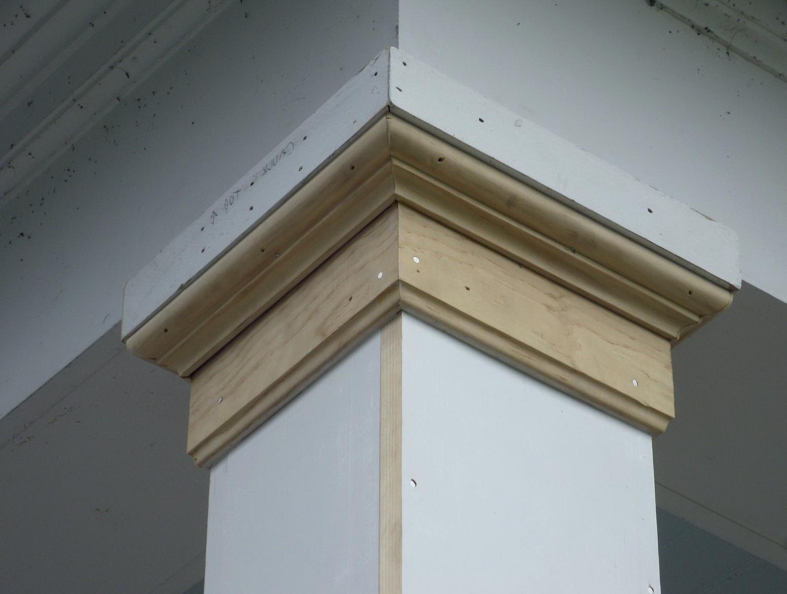 Porch Column Base Molding Home Design Ideas