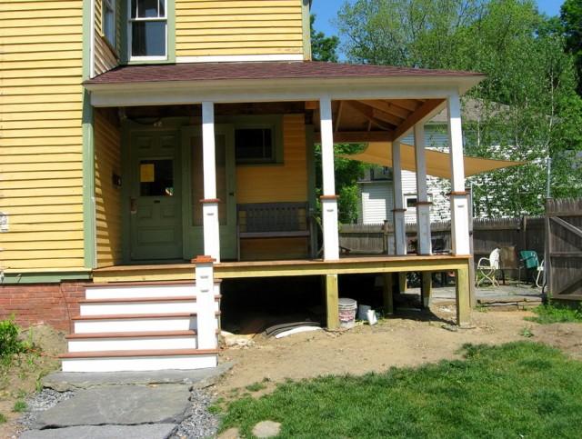 Porch Column Base Trim
