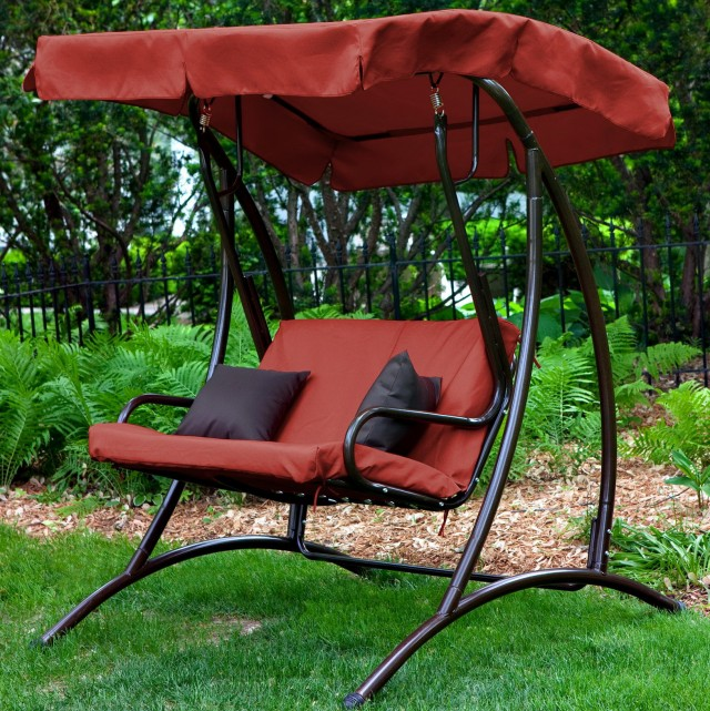 Porch Swings And Gliders Walmart