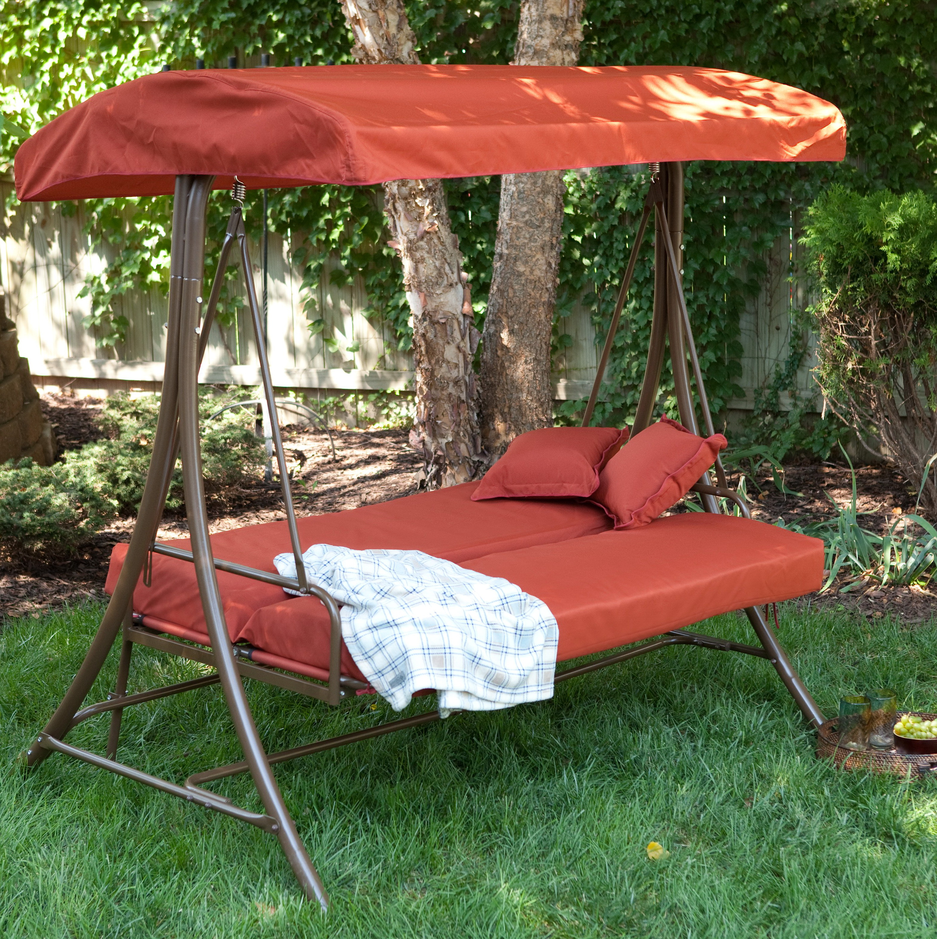 Porch Swings And Gliders With Canopy