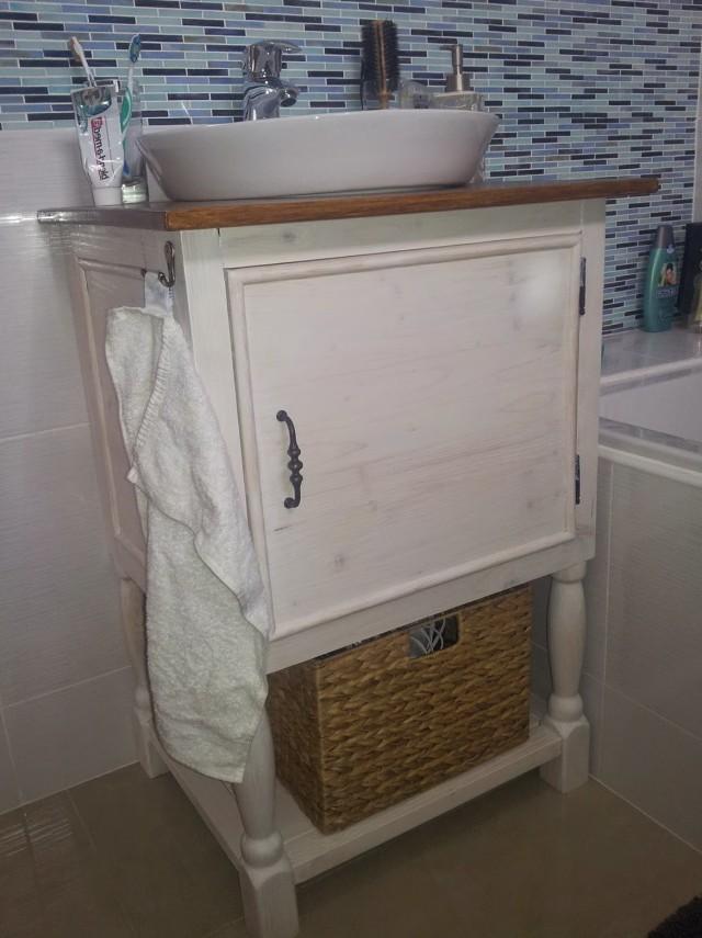 Pottery Barn Bathroom Vanity Knockoffs