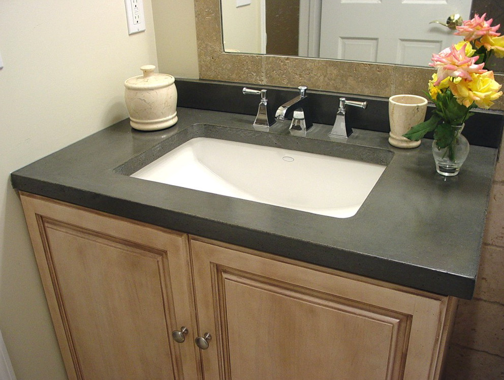 Quartz vanity tops menards bathroom vanity countertops for Bathroom quartz vanity tops