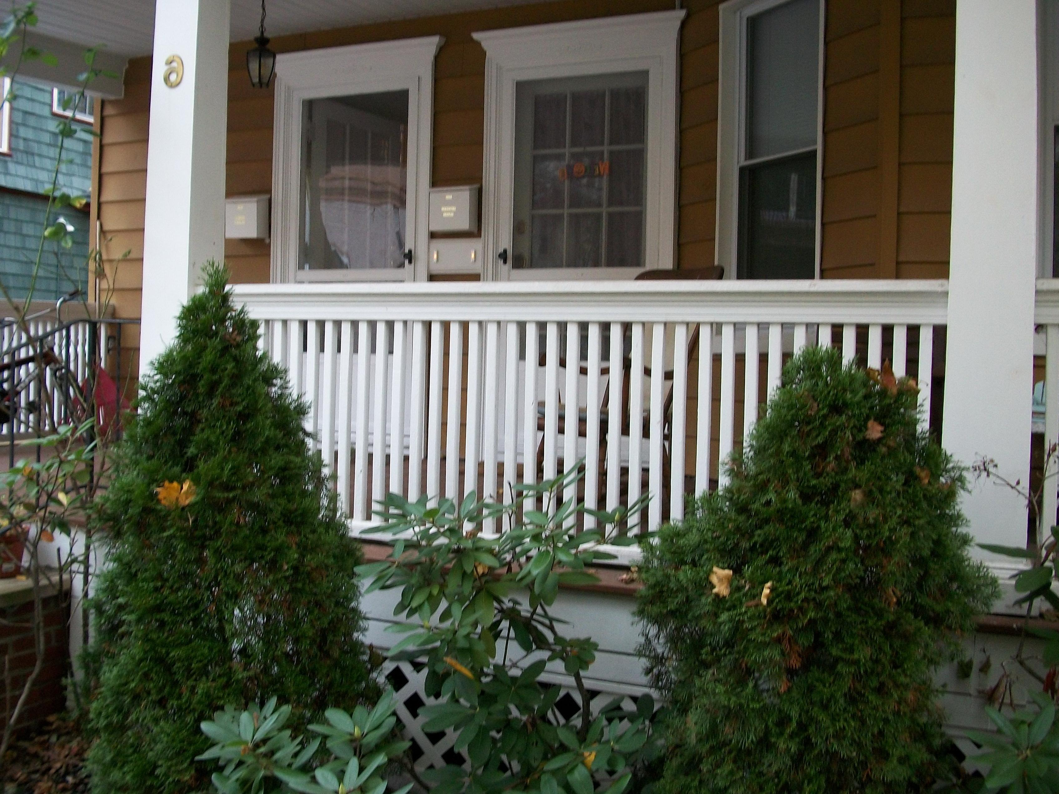 and bergendecks deck iron composite body railings maintenance low railing porch vinyl