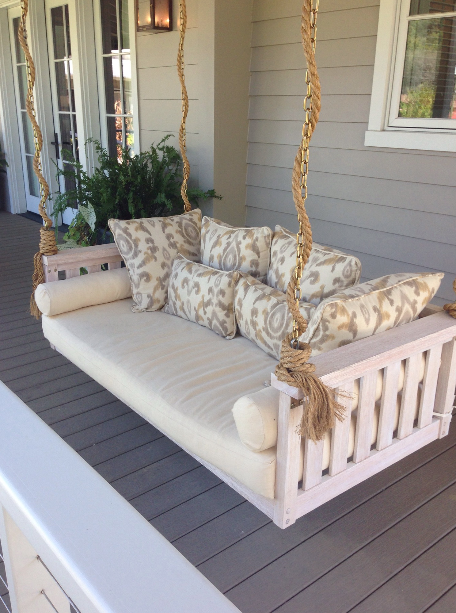 back porch free saltaire shipping swing restoration daybed bed pin