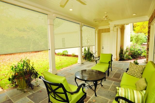 Screen Porch Window Shades