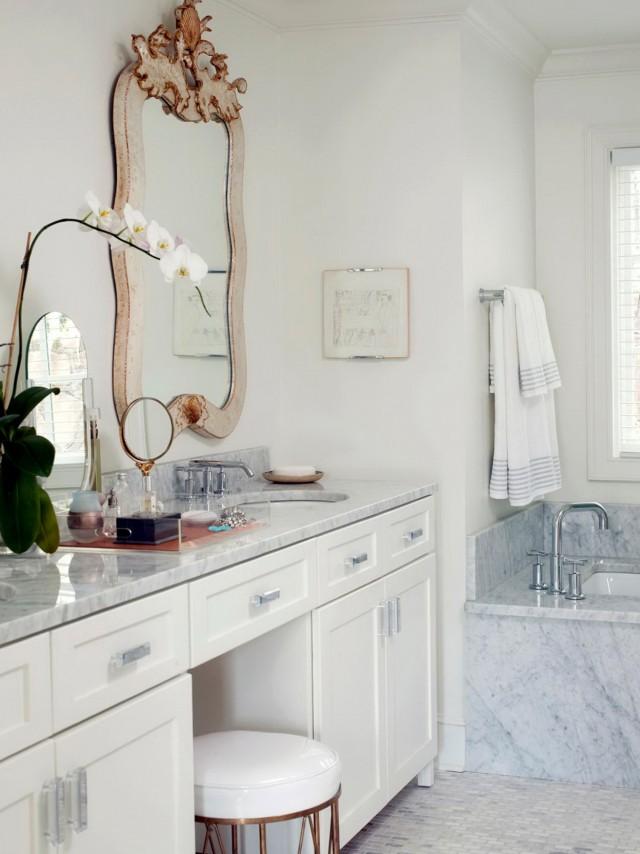 Small Bathroom Makeup Vanity