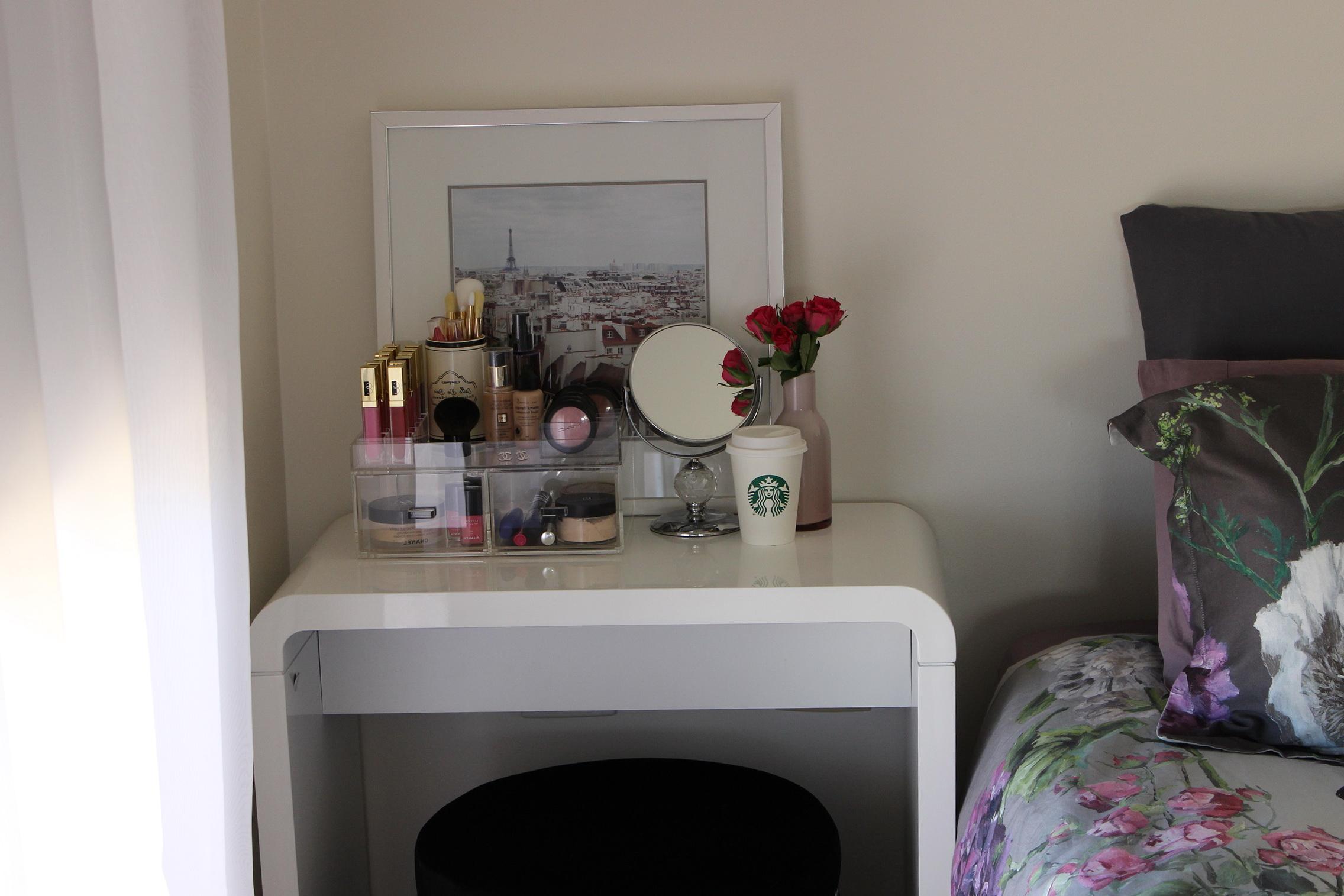Small Bedroom Makeup Vanity Home Design Ideas