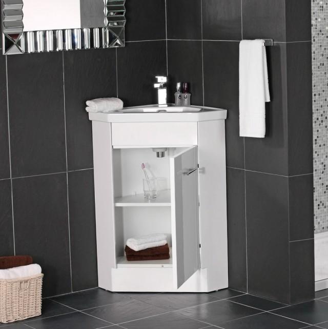 Small Corner Vanity Sink