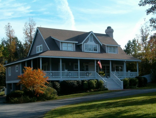 Small Country House Plans With Wrap Around Porches