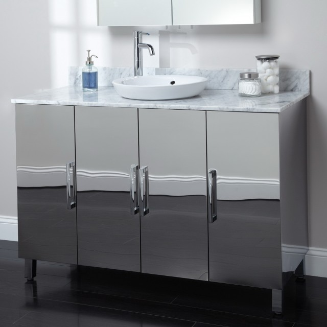 Stainless Steel Bathroom Vanity Sinks
