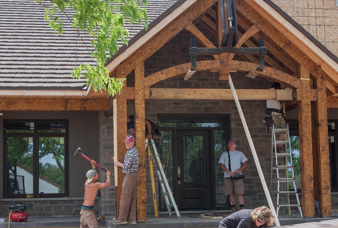 Timber Frame Porch Kits Home Design Ideas
