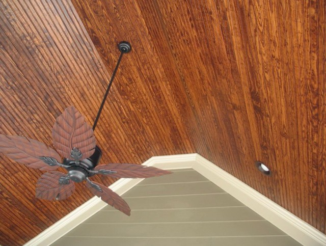 Cedar Tongue And Groove Porch Ceiling @SO26 – Roccommunity