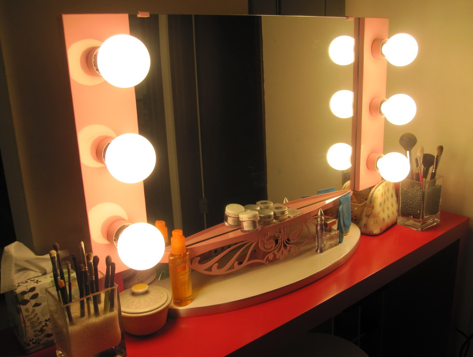 Vanity Mirror With Light Bulbs For Sale Home Design Ideas