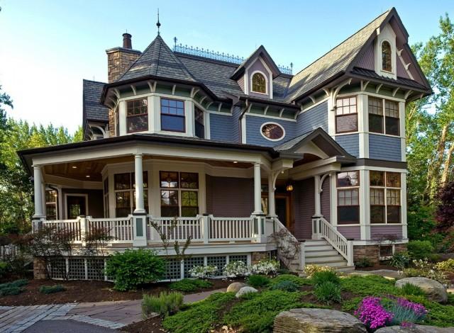 Victorian Home Plans Wrap Around Porch