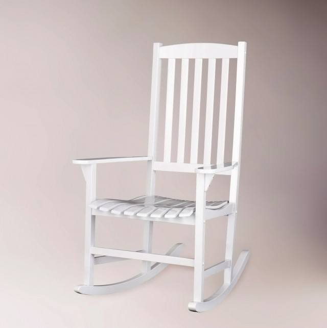 White Porch Rocker Cracker Barrel