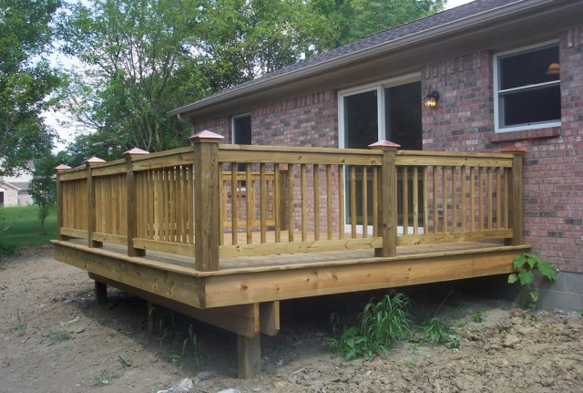 Wood Porch Railings Home Depot