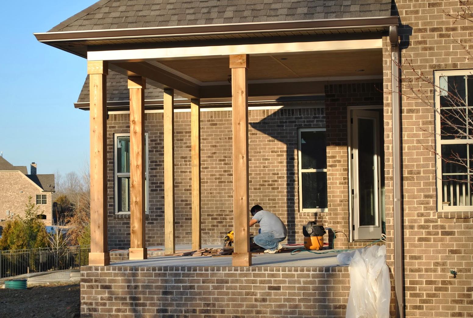 Interior Decorative Columns Lowes Gooding Contractors