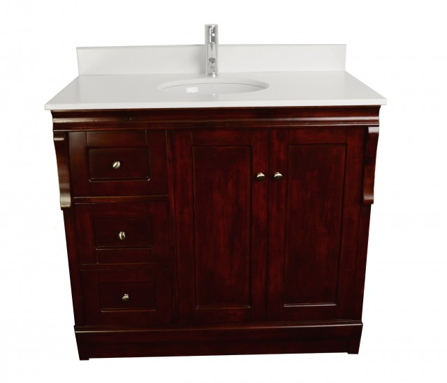 40 Inch Vanity Top With Sink
