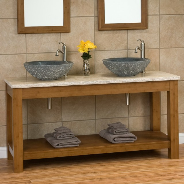48 Double Bathroom Vanity