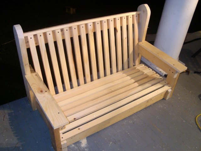 5ft Porch Swing Home Depot