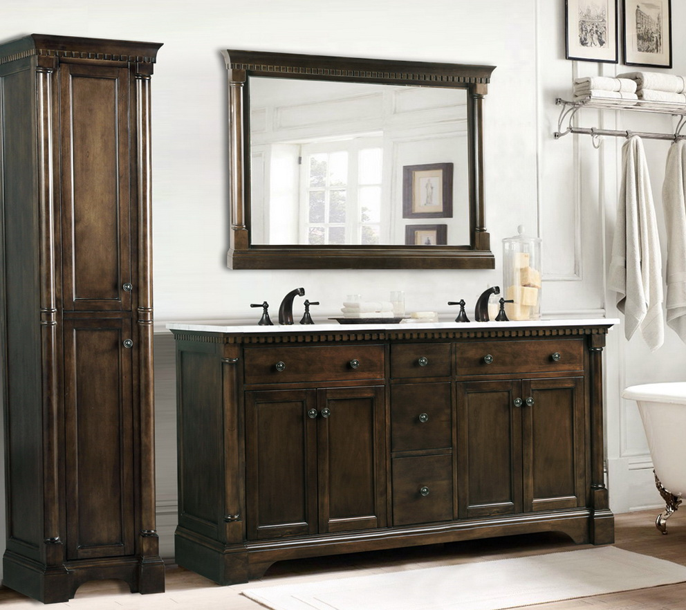 Simple 20 Home Depot 60 Inch Bathroom Vanity Top Design Ideas Of Double Sink Vanities With Tops