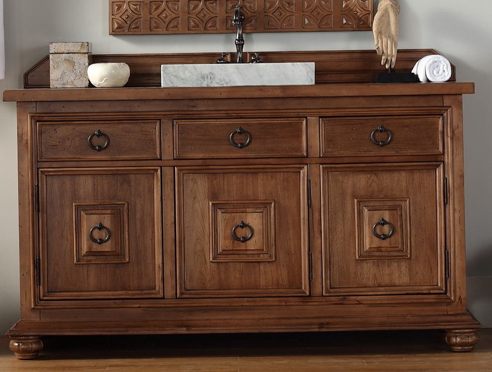 60 Inch Double Vanity Cabinet Only