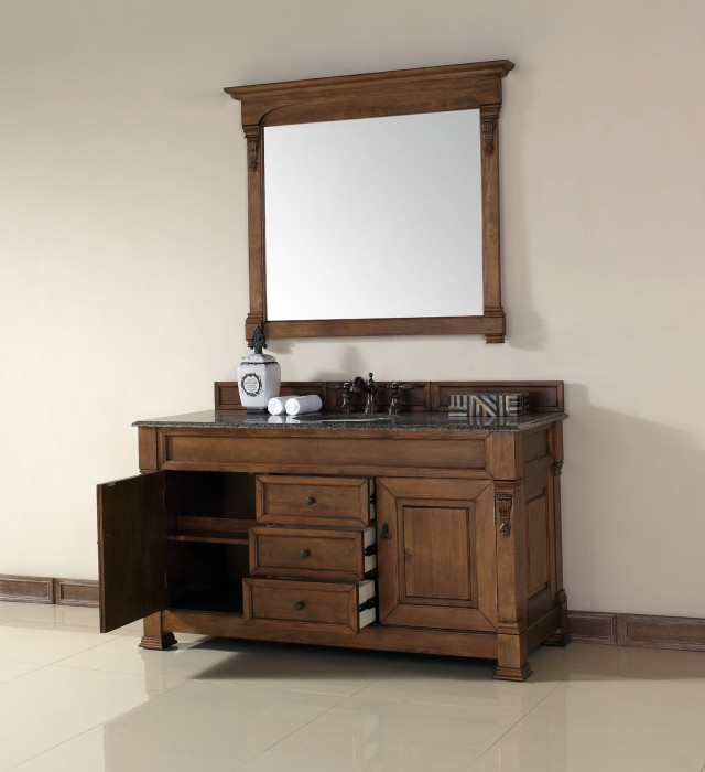 60 Inch Single Sink Vanity Cabinet Only